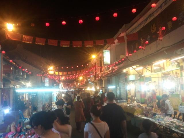Melaka at night